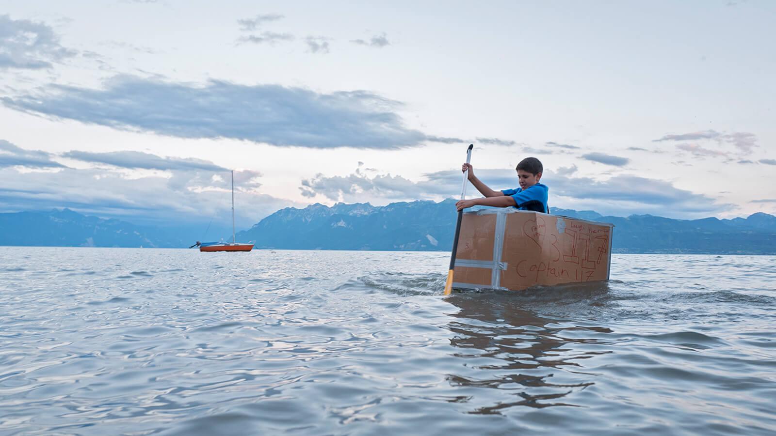 Leadership Camp Boat Game