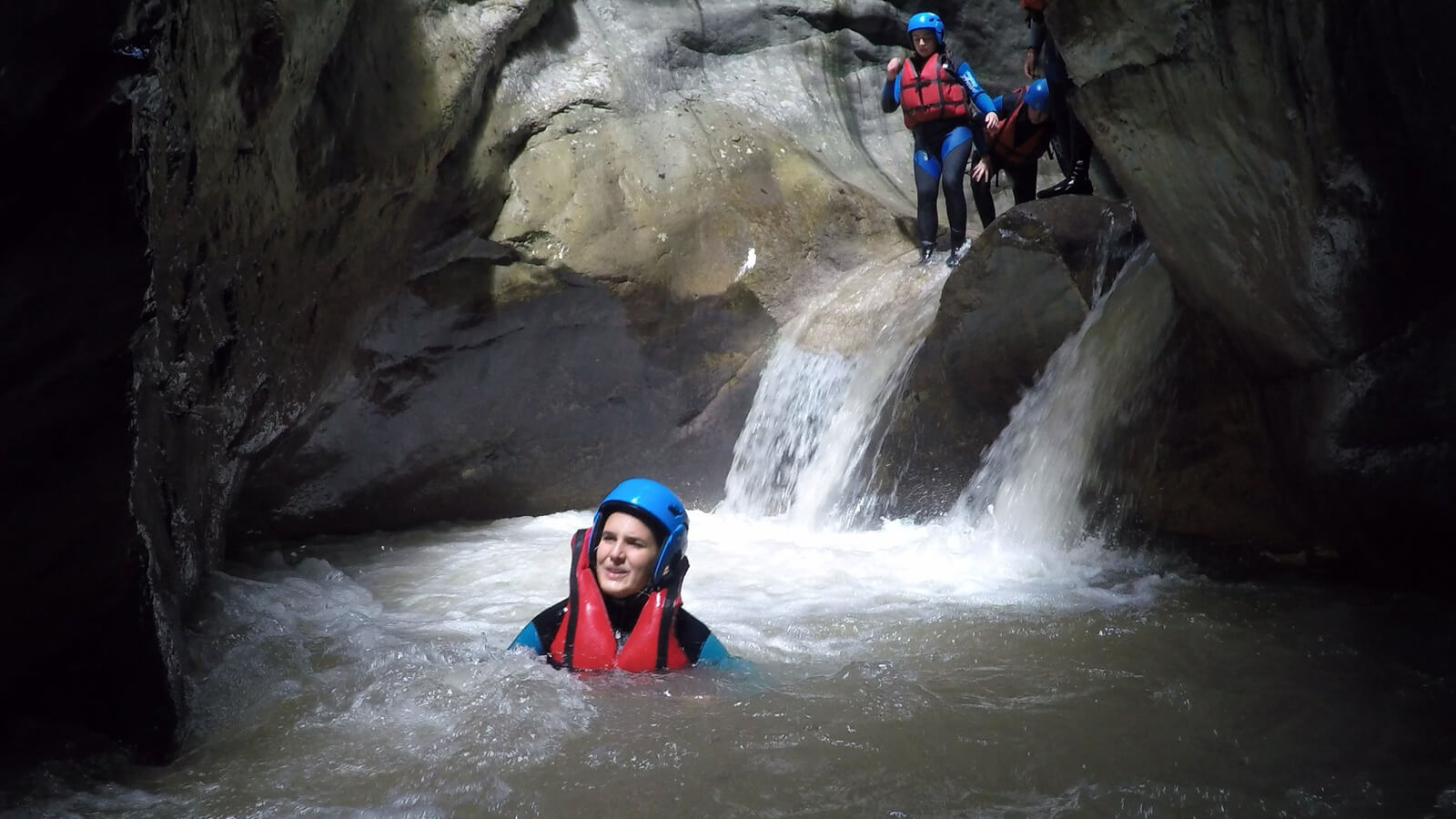 Canyoning at Leadership Summer Camp